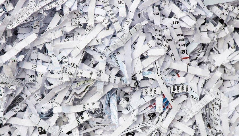 ścinki z dokumentów
